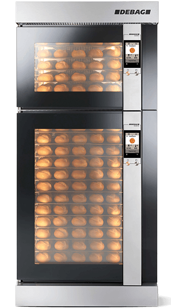 The award-winning in-store baking oven DECON (DEBA
